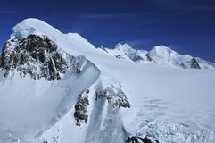 Breithorn Castor and Pollux Stock Photos