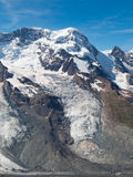 Breithorn Glacier Royalty Free Stock Images