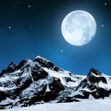 Breithorn and Klein Matterhorn Royalty Free Stock Photography