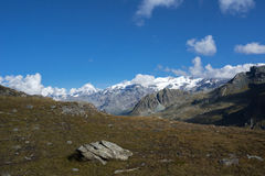 Breithorn ridge Stock Images