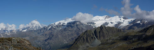 Breithorn ridge Stock Photography