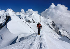 Breithorn Summit Royalty Free Stock Photography