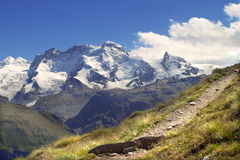 Breithorn - switzerland Royalty Free Stock Images