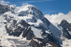 Breithorn Westgipfel Stock Images