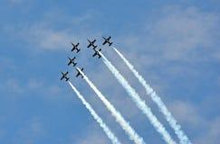 Breitling喷气机小组 免版税库存图片