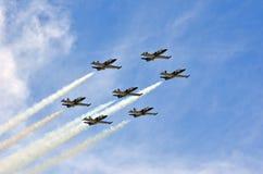 Breitling喷气机小组 图库摄影