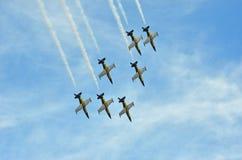 Breitling喷气机小组 免版税图库摄影