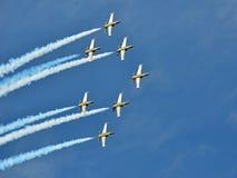 Breitling喷气机小组 库存照片