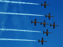 Breitling airshow Stock Image