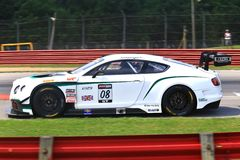 Breitling Bentley race car Stock Photo