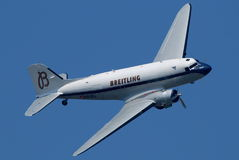 Breitling DC3. Image can be used todepict different articles regarding this company Stock Images