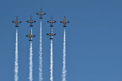 Breitling Jet Team Royalty Free Stock Photo