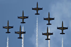 Breitling Jet Team Stock Images
