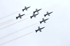 Breitling Jet Team Royalty Free Stock Photo