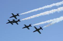 Breitling Jet Team Royaltyfri Bild