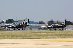 Breitling Jet Team Royaltyfri Fotografi