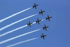 Breitling Jet Team Royaltyfri Foto