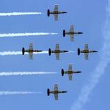 Breitling Jet Team Arkivfoton