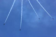Breitling Jet Team Royaltyfria Bilder