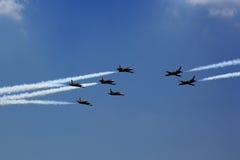 Breitling Jet Team Arkivfoto