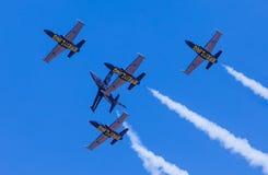 Breitling Jet Team em Tailândia Fotografia de Stock