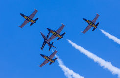 Breitling Jet Team in Thailand. Stock Photography