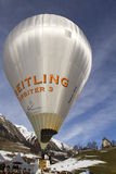 Breitling Orbiter Balloon - Chateau-d Oex 2010 Royalty Free Stock Photos