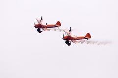 Breitling que wingwalking Foto de Stock