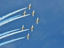 Breitling Strahlen-Team Stockfoto