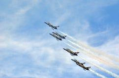 Breitling Strahlen-Team Stockbild