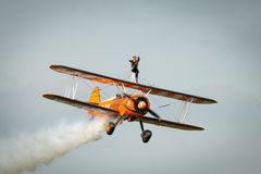 Breitling Wing Walker Stock Image