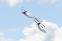Breitling Wing Walkers Royalty Free Stock Photography