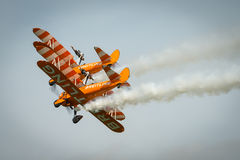 Breitling Wing Walkers Stock Image
