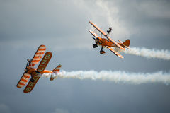Breitling Wing Walkers display team Stock Photos