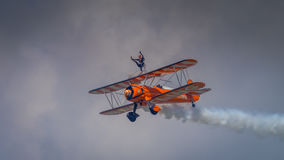 Breitling Wing Walkers Stock Photos
