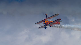 Breitling Wing Walkers Stock Images