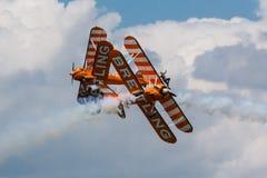 Breitling Wingwalkers obrazy stock