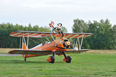 Breitling Wingwalkers Royalty Free Stock Photos