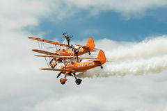 Breitling Wingwalkers Royalty Free Stock Images