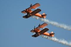 Breitling Wingwalkers Imagem de Stock Royalty Free