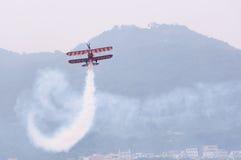 Breitling wingwalking Royalty Free Stock Photos