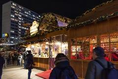 Breitscheidplatz Christmas Market stock photography