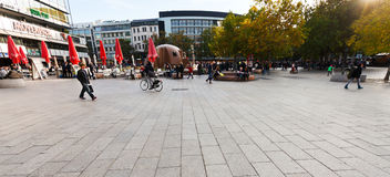 Breitscheidplatz urban square in Berlin Royalty Free Stock Photo
