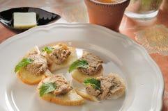 Breja tuńczyka chleb Obraz Royalty Free