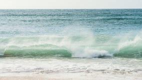 Brekende Golf in het Noorden van Schotland Stock Afbeelding