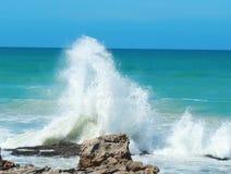 Brekende golven 1 Royalty-vrije Stock Foto's