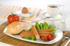 Brekfast sausages Stock Photo