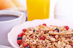 Brekfast time Royalty Free Stock Photo