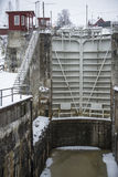 Brekke sluices Stock Photo