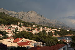 Brela, Croacia, año 2010 Fotos de archivo